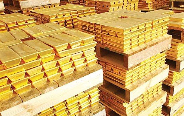 Запасы золота в резервах ЦБ РФ за май выросли на 0,28%