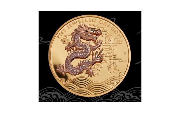 дракон монета